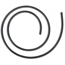 BLACK CAT Rurka Silikonowa CZARNA 5mm  - 1m 6612004