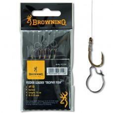 Browning haczyki z przyponem Feeder Method Trophy Fish