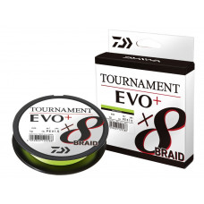 Daiwa Plecionka Tournament X8 Braid Evo+ Chartreuse 0,12