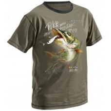 Dragon Koszulka T-shirt Szczupak Olive TS-60