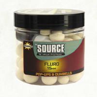 Dynamite Baits Kulki Haczykowe Pływające Dumbells The Source Fluoro Pop-Ups 10mm