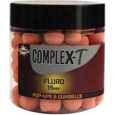 Dynamite Baits Kulki Proteinowe Pływające CompleX-T Fluoro Pop-ups & Dumbells 15mm