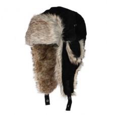 Eiger Czapka Zimowa Uszatka Suede Fur Hat Black XL