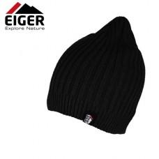 Eiger Czapka Zimowa Knitted Beanie Black