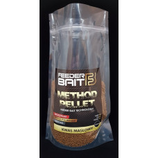 Feeder Bait Micro Pellets Kwas Masłowy 2mm 800g