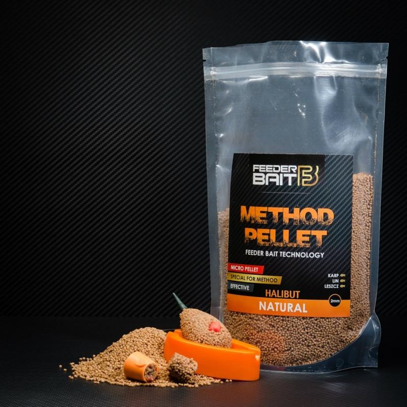 Feeder Bait Micro Pellets Natural Halibut 2mm 800g