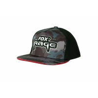Fox Rage Czapka Z Daszkiem Camo Flat Trucker Cap NPR230