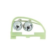 Jaxon Dzwonek Podwójny 15mm AD-CH02