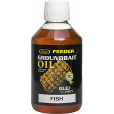 Lorpio Dodatek Do Zanęt Feeder Groundbait Oil Fish Olej Rybny 0,25ml DD-LO110