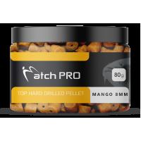 MatchPro Pellet TOP HARD MANGO 8mm DRILLED 80g