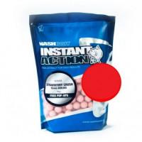Nash Kulki Proteinowe Strawberry Crush Boilies 20mm 1kg