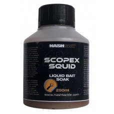 NASH Scopex Squid Liquid Bait Soak - Dip 250ml