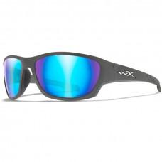 WILEY-X OKULARY CLIMB CAPTIVATE BLUE MIROR GRAY FRAME