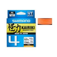 Shimano Plecionka Kairiki 4x Hi-Vis Orange 150m 0,06mm