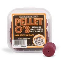 SonuBaits Pellet O'S Na Włos 8mm Spicy Sausage