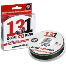 Sufix Plecionka 131 G-CORE BRAID LO-VIS GREEN 150m 0.128mm