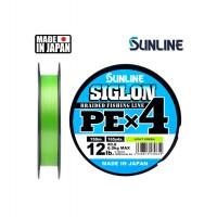 Sunline Plecionka Siglon PE X4 150m Light Green