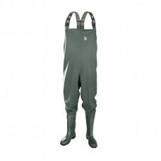 Waders Spodniobuty Wędkarskie Zielone 0310 PCV Rozmiar 41