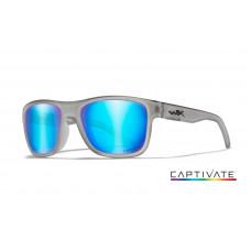 Wiley-X okulary Ovation Helix Capt Blue Mirrow Matte Slate Frame