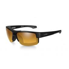 Okulary polaryzacyjne Wiley X - Compass Amber Gold Mirror Matte Black