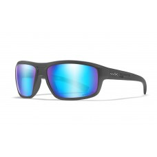 Wiley X Okulary Polaryzacyjne Captivate Blue Mirror Matte Graphite Frame ACCNT09