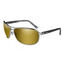 Wiley X Okulary Polaryzacyjne Klein Amber Gold Mirror Gunmetal Frame ACKLE04