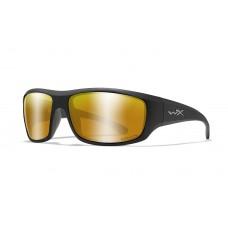 Wiley X Okulary Polaryzacyjne Captivate Bronze Mirror Matte Black Frame ACOME04