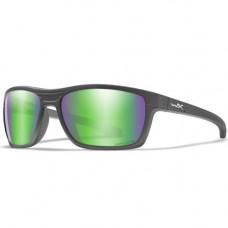 WILEY X - Okulary KINGPIN Captivate Green Mirror Matte Graphite Frame