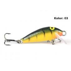 Siek-m Wobler Paproch Pływający 2,5cm