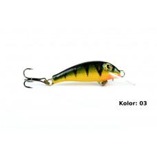 Siek-m Wobler Stynka Pływający 4cm