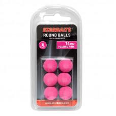StarBaits Kulka Piankowa Pływająca Round Balls 14mm Pink Różowa