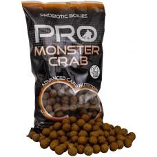 Starbaits Kulki Proteinowe Zanętowe Probiotic Monster Crab 14mm 1kg