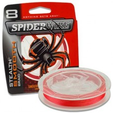 SpiderWire Plecionka Stealth Smooth 8x Code Red na metry