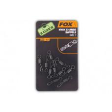 Fox Krętlik Do Szybkiej Wymiany Przyponów EDGES KWIK CHANGE SWIVELS CAC485
