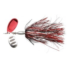 Savage Gear Blacha Obrotowa DP Spinner Red Silver Flash