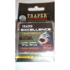PLECIONKA EXCELLENCE TOUCHDOWN DARK BROWN - TRAPER (72181)