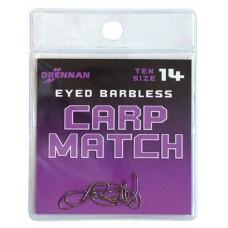 Drennan haczyki bezzadziorowe carp match method feeder