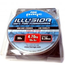 Fox fluorocarbon illusion 0,28mm/50m 10lb