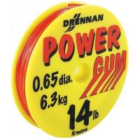 AMORTYZATOR POWER GUM (CZERWONY) 0,65mm - DRENNAN