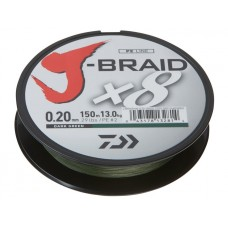 Daiwa plecionka J-Braid Green 150m