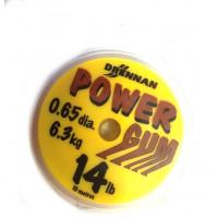 AMORTYZATOR POWER GUM (BRĄZOWY) 0,65mm - DRENNAN