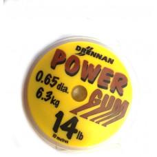 DRENNAN AMORTYZATOR POWER GUM BRĄZOWY 0,65mm