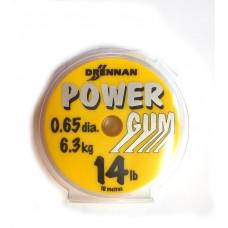 DRENNAN AMORTYZATOR POWER GUM BEZBARWNY 0,65mm