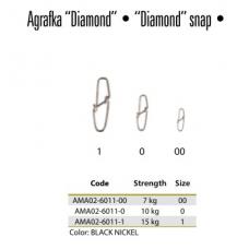 MIKADO AGRAFKA REGULOWANA DIAMOND 6011