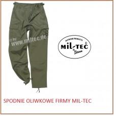 MIL-TEC SPODNIE OLIWKOWE 11805001