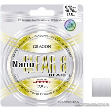 Dragon Plecionka Nano Clear 8x 135m