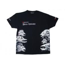 Dragon Koszulka T-shirt Hells Anglers MIX Czarna