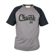 Fox Chunk Koszulka T-Shirt Black Grey