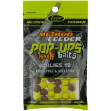 Lorpio Kulki Pop-Up Hook Baits Boilies Pineapple & Shellfish 10mm