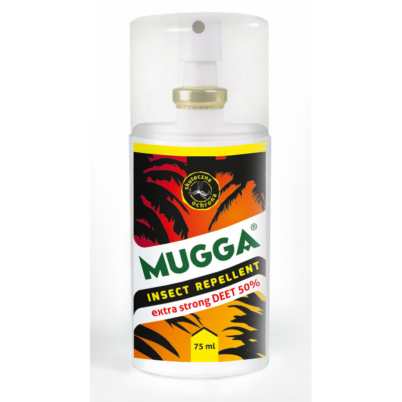 Mugga Spray Na Komary Strong 50% Deet